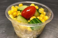 Corn and cucumber salad